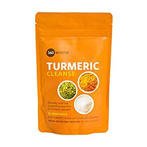 Amazon Com Turmeric Cleanse Detoxify With Turmeric