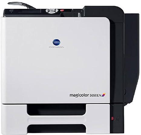 Konica Minolta Magicolor 5650En - Impresora láser Color (30 ppm ...