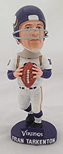 "Fran Tarkenton Minnesota Vikings ""White Jersey"" Bobblehead ( Limited Production)(Bobble Head)"
