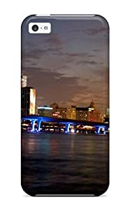 linfenglinLennie P. Dallas's Shop Cute High Quality iphone 6 plus 5.5 inch Miami City Case 4870593K85481793