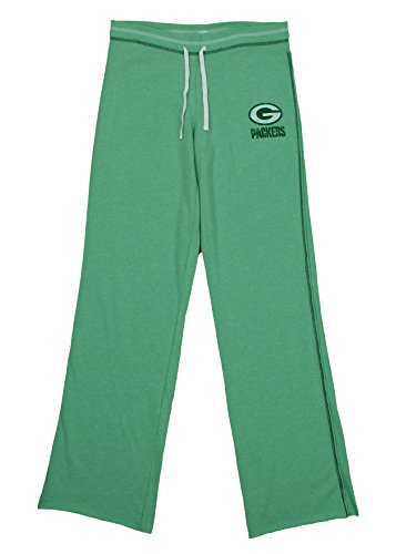Lounge Womens Nfl Pants (Green Bay Packers NFL Womens Lounge Pants, Heathered Light Green)