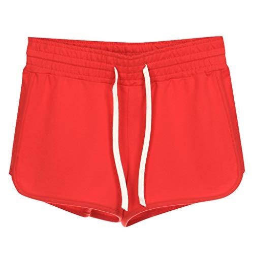 Naladoo New Women's Sports Beach Shorts Casual Hot Pants Summer Sexy Mini ()
