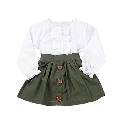 Little Girls Two Piece Clothes S...