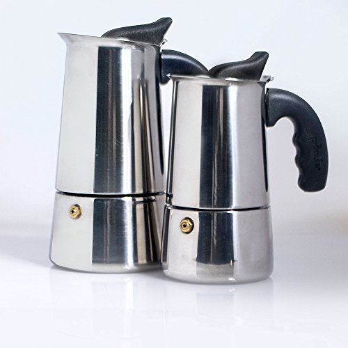 primula stainless steel 6 cup espresso maker import it all. Black Bedroom Furniture Sets. Home Design Ideas
