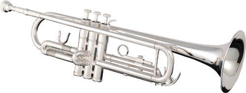 Eldon ETP130SL B-Flat Trumpet with 7C Silver Plated Lightweight (Silver Plated Light)