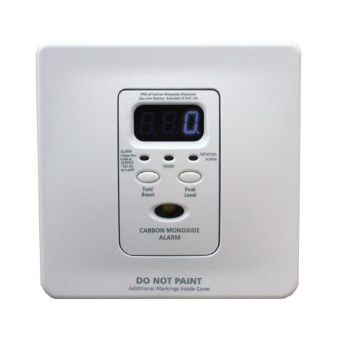 (Kidde KN-COPF-i Silhouette Wire-in Low Profile Carbon Monoxide Alarm)