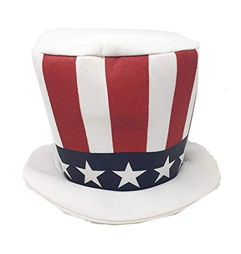 Jacobson Hat Company Mens Mad Hatter American Flag