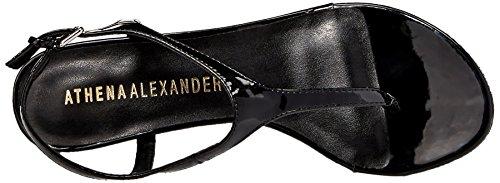 Athena Alexander Dames Lunna Wig Sandaal Zwart Patent