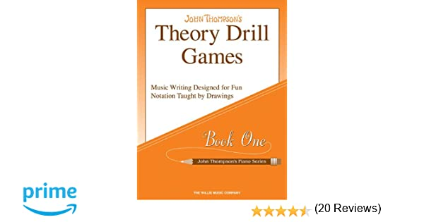 Theory Drill Games Set 1: Early Elementary Level (John Thompson's ...