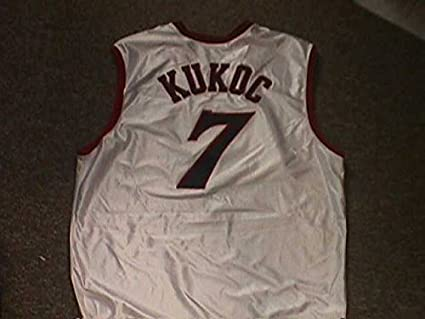 Tony Kukoc Philadelphia 76ers White Home Game Jersey