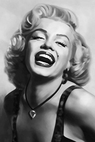 Amazon marilyn monroe poster photo wallpaper laughing marilyn marilyn monroe poster photo wallpaper laughing marilyn 1 part 69 x 45 inches voltagebd Choice Image