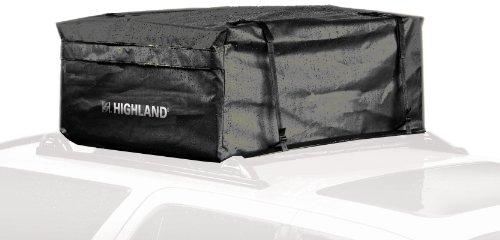 Rainproof Cargo - Highland 1038900 Black 15 cu.ft. Rainproof Car Top Bag with Storage Sack