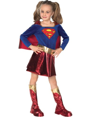 [DC Super Heroes Child's Supergirl Costume, Large] (Supergirl Costumes Pink)