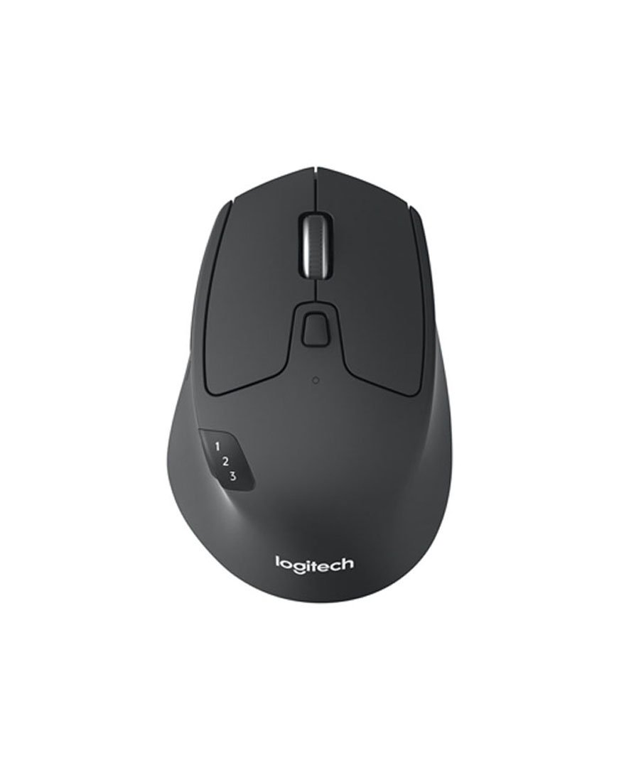 Logitech M720 Triathalon Multi-Device Wireless Mouse with FLOW Cross-Computer Control and File Sharing for PC and Mac, Easy-Switch up to 3 Devices