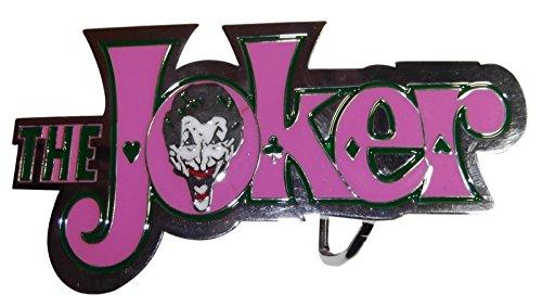 (DC's The Joker Logo and Face Enamel Metal Belt Buckle )