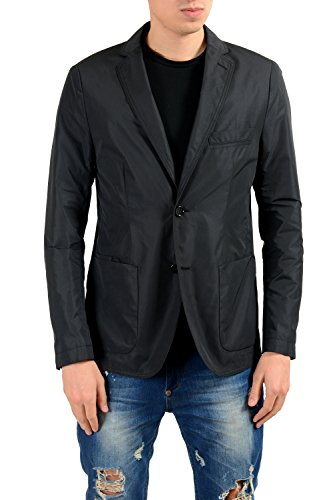 Hugo Boss Nevill Black Two Button Men's Blazer US 36R IT ()