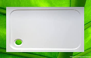 Ducha Bañera 120 x 70 cm Plato de ducha para cabina de ducha/Mampara 70 x 120 ducha Taza plano: Amazon.es: Bricolaje y herramientas