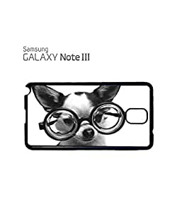 Doggie Geek Nerd Cute Mobile Cell Phone Case Samsung Note 3 Black