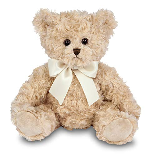 Bearington Lil' Tate Champagne Beige Plush Stuffed Animal Teddy Bear, 12 inches (Toy Champagne)