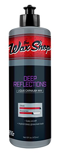 the Wax Shop 50964 Deep Reflections Liquid Carnauba Wax-16oz (Best Liquid Carnauba Wax)