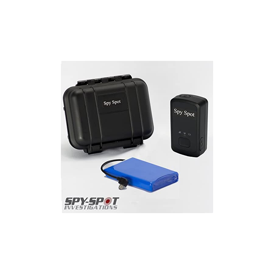Spy Spot 2018 New 4G LTE GL300MA Portable GPS Tracker with Real Time Live Locator, Includes Large Extended Battery and Magnetic Weatherproof Case