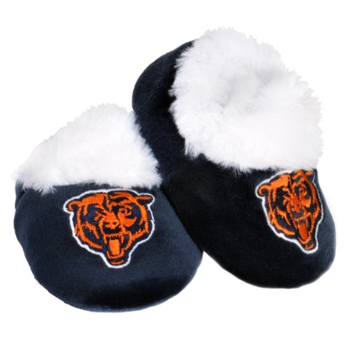 Chicago Bears Logo Baby Bootie Slipper - Chicago Wear Bears
