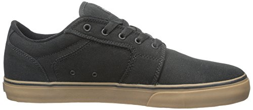 Etnies Barge LS Skate Shoe Black/Grey/Gum AU7yB2bn