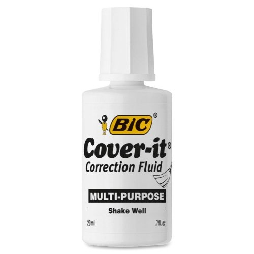 Wholesale CASE of 25 - Bic Wite Out Multipurpose Correction Fluid-Correction Fluid, Fast-Drying, 20 ml, ()