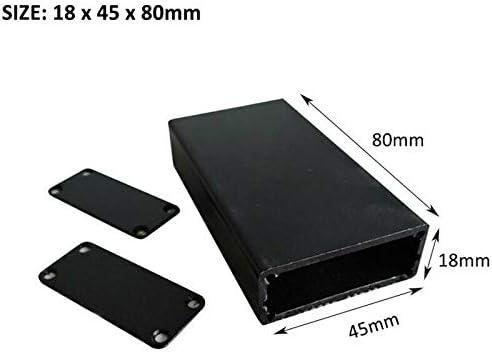 SENRISE caja de aluminio para proyectos electrónicos, caja de ...