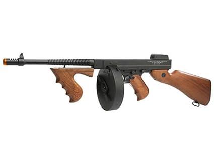 Amazon.com: Thompson M1928 full-metal cuerpo AEG Airsoft Gun ...
