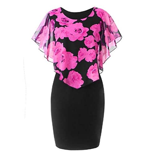 lowest price 1e1f7 98b91 50%OFF Andopa Damen classics gepatchten bodycon mini work ...
