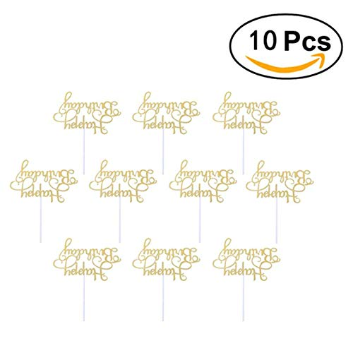 10pcs Happy Birthday Cake Per Creative Dessert Decorations