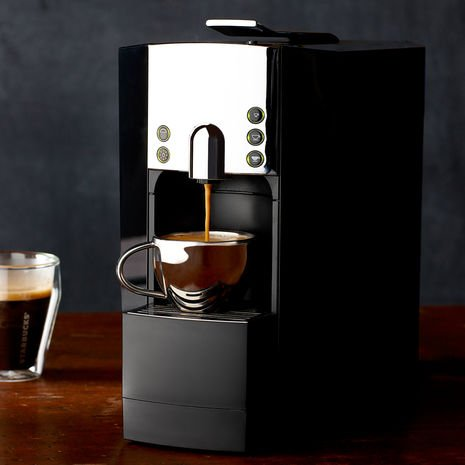 Starbucks Verismo® 600 Brewer Piano Black