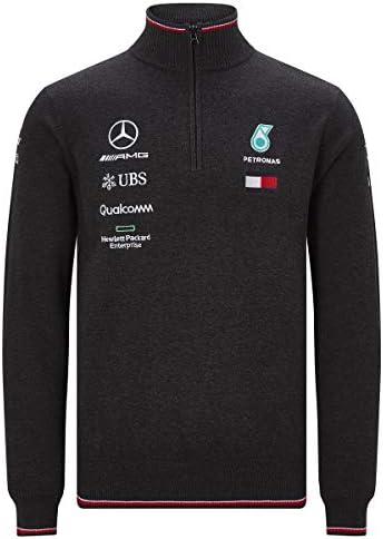 Mercedes AMG Petronas Motorsport Mens 2019 F1 Knitted Jumper