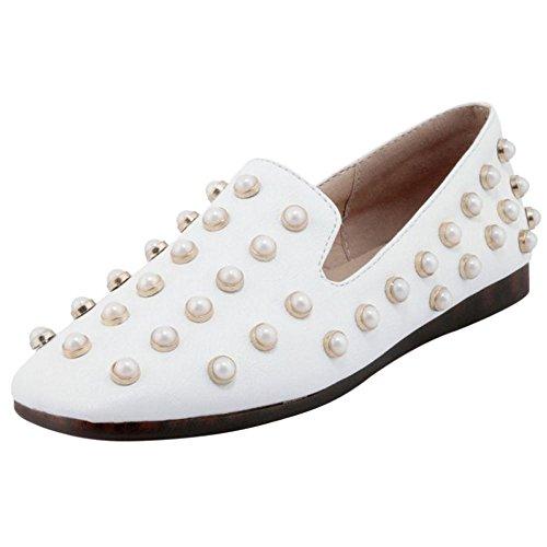 Coolcept Femmes Mode a Enfiler Escarpins white