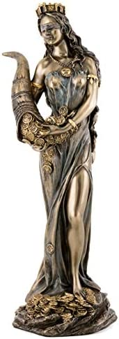 Bronze Finish Fortuna Goddess Statue product image