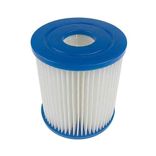 Sanmubo Number I Inflatable Swimming Pool Filter Swimming Pool Clear Filter Element Easy Installation Efficient Filter for Tube Pool Clean