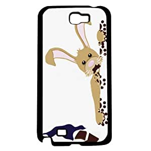 Easter Bunny Eating Chocolate Hard Snap on Phone Case (Note 2 II)