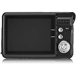 AbergBest 21 Mega Pixels 2.7″ LCD Rechargeable HD Digital Video Students Cameras-Indoor Outdoor for Adult/Seniors/Kids, Black