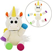 Animoodles Magnetic Iris Unicorn Stuffed Animal Plush, 7.5&
