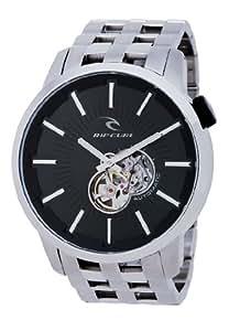 Rip Curl DETROIT A2405 - Reloj de caballero automático, correa de acero inoxidable color plata