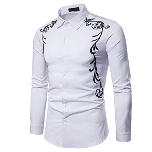 2ecef7bec Clearance 2018 Shirts for Men, Jiayit Mens Hipster Casual Slim Fit Long  Sleeve Button Down