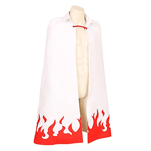 CG Costume Men's Uzumaki Cloak 7th Hokage Cloak Boruto Cosplay Costume XXSmall