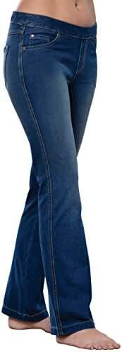 PajamaJeans - Bootcut Stretch Knit Denim Jeans for Women