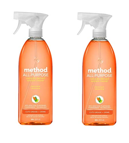 Method All Purpose Natural Surface Cleaning Spray - 28 oz - Clementine - 2 pk