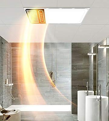 Bathroom Heater Xinjin Calentador de baño 5 en 1 PTC Calefacción ...