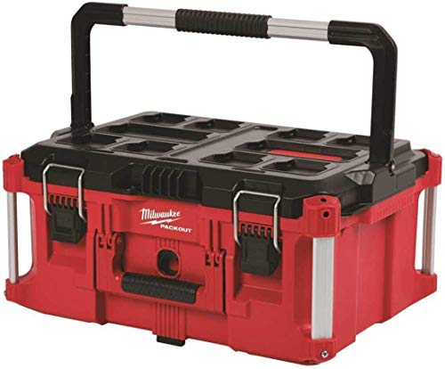 Milwaukee Electric Tool 48-22-8425 Pack out, Large Tool Box, Red