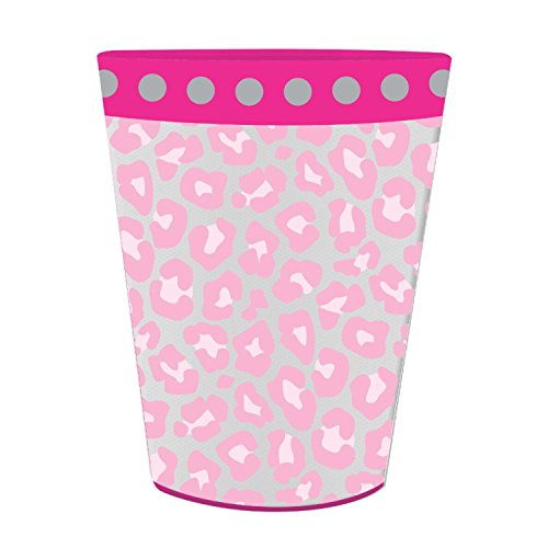 Club Pack of 12 Sparkle Spa Party! Plastic Birthday Keepsake Cups 16oz. by Party Central (Image #1)