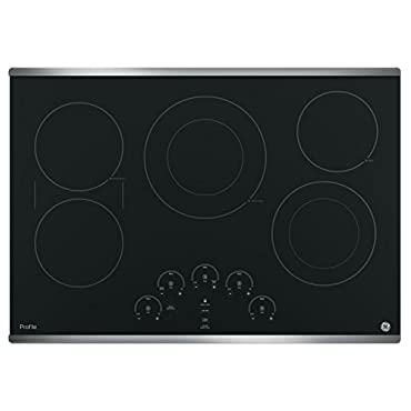 GE PP9030SJSS Profile 30 Stainless Steel Electric Smoothtop Cooktop