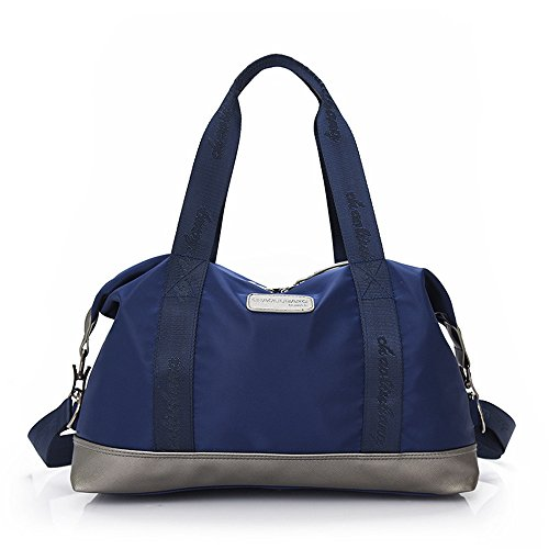 For Travel Men Duffel Overnight Weekender color Purple Bag Casual Women Blue Unisex Luggage Oversized naHx4F8